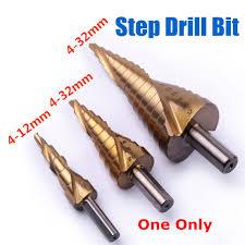 Aliexpress.com : Buy <b>1pc HSS</b> Titanium Coated Step Drill Bit <b>4 12/4</b> ...