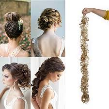 Chignon Postiche Extension De Cheveux Volume Hair Bun Hair Extensions 18 Méché Blond