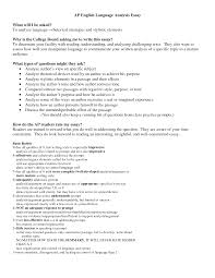 Rhetorical Is Essay Example Ap Lang Examples Sample Analysis