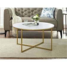 marble and gold round coffee table inch with rose legs