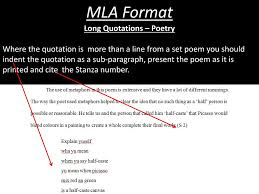 Ppt Mla Format Powerpoint Presentation Id2199287
