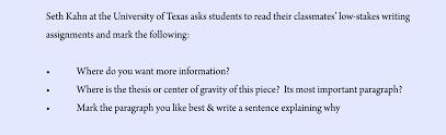 Peer Reviews Integrating Peer Review Southwestern University