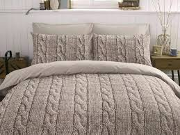 modern cable knit bedding chunky comforter king set queen canada mose basket sweater crib
