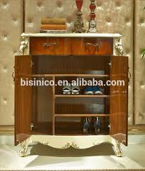 Lovable Luxury Shoe Cabinet European Style Luxury Shoe Cabinetbeautiful  Painting Wood Carved