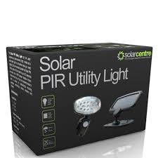 Solar Security LightSolar Pir Utility Light