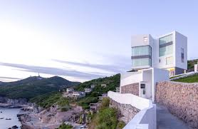 Star Island Concrete Design Corp Dengfenglai Guest House Zx Studio Archdaily
