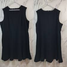 Talbots Dress Size Chart Talbots Little Black Dress Sleeveless Ponte Knit