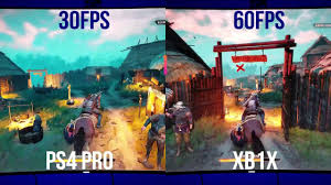 Ps4 Ps4 Pro Comparison Chart Witcher 3 Xbox One X Vs Ps4 Pro Framerate Test And Comparison