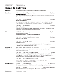 Resume Examples Adding Resume Template With Volunteer Experience