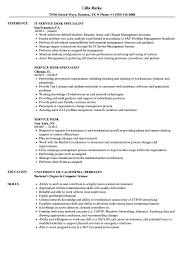 Service Desk Resume Samples Velvet Jobs