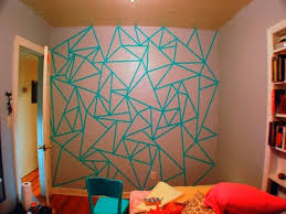 Paint Patterns Beauteous Creative Paint Patterns On Wall Ideas 48 48