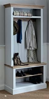 Hallway Coat Racks Hallway Coat Rack Wardrobe Racks Stunning Stand With Shoe Storage 21