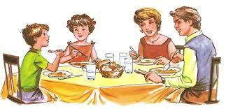 Resultado de imagen para comida familias