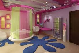 Enchanting Tween Bedroom Ideas With Bed Curtain And Area Rug Plus Chandelier