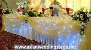 decoration for table. Asian Wedding Stage Table Decorations Decoration For D