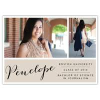 High School Graduation Announcement Personalized Graduation Stationery Expressionery