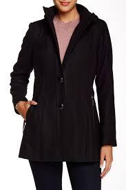 Kensie Outerwear Hoodie Coat Nordstrom Rack