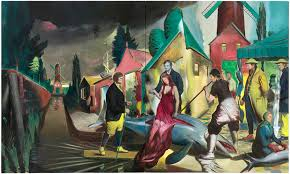 neo rauch at the well david zwirner gallery new york