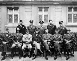 military history of the united states during world war ii key american military officials in europe