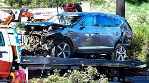 Excessive speed caused Tiger Woods' SUV crash, sheriff says