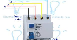 wiring diagram wiring diagram 3 phase rcd 2 2bpole 2brcd three phase wiring diagram motor at 3 Phase Circuit Breaker Wiring Diagram