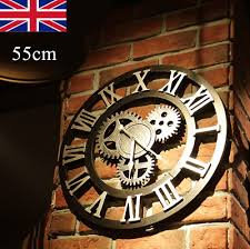 uk 60cm large industrial punk wall