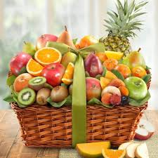 fruit basket. Beautiful Fruit AA4061 Tropic Abundance Fruit Basket No Selection To