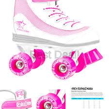 Roller Derby Firestar Size Chart Advertisement Ebay Roller Derby Youth Girls Firestar Roller