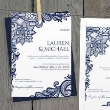 diy wedding invitation template. diy wedding invitation template - editable text ornate lace (navy bl \u2013 karma k diy o