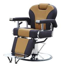 Hydraulic Salon Recline Barber Chair Beauty Spa Shampoo Equipment Black/Brown