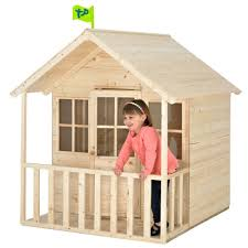 Tp Summer Lodge Outdoor Playhouse Childrens Garden Wendy House