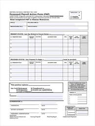 Payroll Action Form Template Columbiaconnections Org Forms For ...