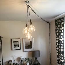 pendant lighting plug in. Unique Chandelier PLUG IN Modern Hanging Pendant Lamp Industrial Lighting Ceiling Fixture Antique Or LED Bulbs Plug In Pinterest