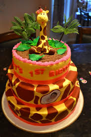 Happy Birthday My Nieces 1st Bday Cake Imgur