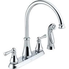 Mesmerizing Kitchen Faucet Lowes Kitchen 4 Hole Kitchen Faucet