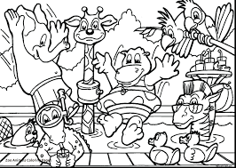 Free Zoo Animals Coloring Pages For Kids Babyungle Preschoolers