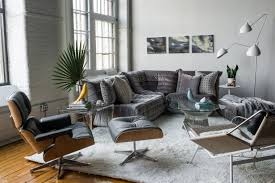 Lounge Design Furniture Togo Lounge Area And Eames Lounge Chair Reproductions Of