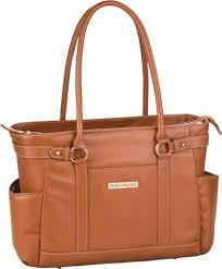 clark mayfield hawthorne leather laptop handbag 17 3 women s