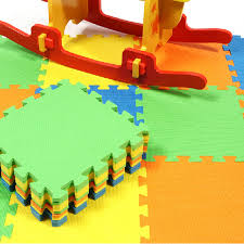 <b>10pcs</b>/Set DIY <b>Baby</b> Puzzle Carpet Play Floor Mat <b>EVA</b> Kids Solid ...