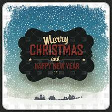 merry christmas and happy new year greeting card vector image vector artwork of borders to zoom