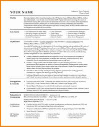 Military Resume Public Affairs Specialist Government Emphasis