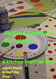Craft For Kitchen This Kitchen Craft For Kids Will Brighten The Work Of Doing Dishes