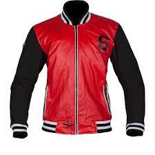 sentinel spada campus leather motorcycle jacket