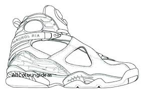 Michael Jordan Coloring Pages Basketball Nike Air Cremzempme