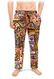 Мужские пижамные штаны Оранжевый дом. #2621720 ...