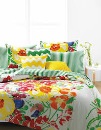 a touch of spring ursula duvet cover set by marimekko hudson s bay