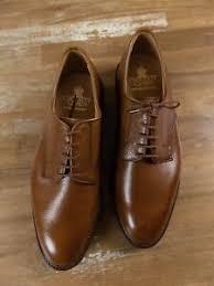 Details About Crockett Jones Grasmere Brown Tan Grain Shoes Size 10 5 Us 10 Uk 44 5 Eu