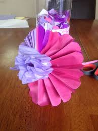 Tissue Paper Flower Instructions Easy Tissue Paper Flowers 5 Steps With Pictures
