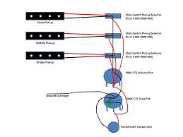 three 3 jazz pickup bass wiring talkbass com 3 pickup bass wiring diagram