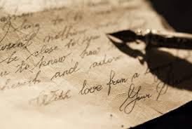 Image result for old fashioned letter